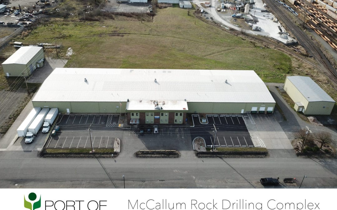Port of Chehalis Closes $2.5M Property Sale to McCallum Rock Drilling